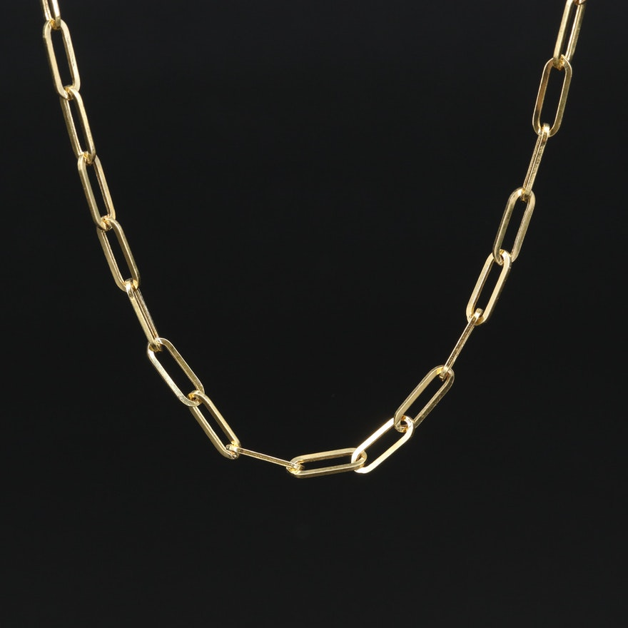 EFFY 14K Cable Chain Necklace