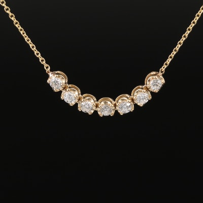 14K Diamond Necklace