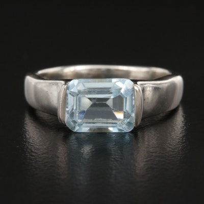 Sterling Topaz Ring
