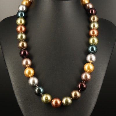 Kenneth Jay Lane Faux Pearl Necklace
