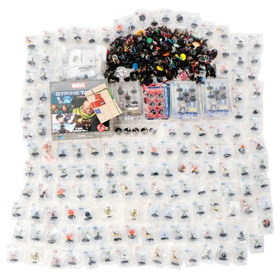Heroclix Miniature Action Figure Collection with Strike Team Strategy Game