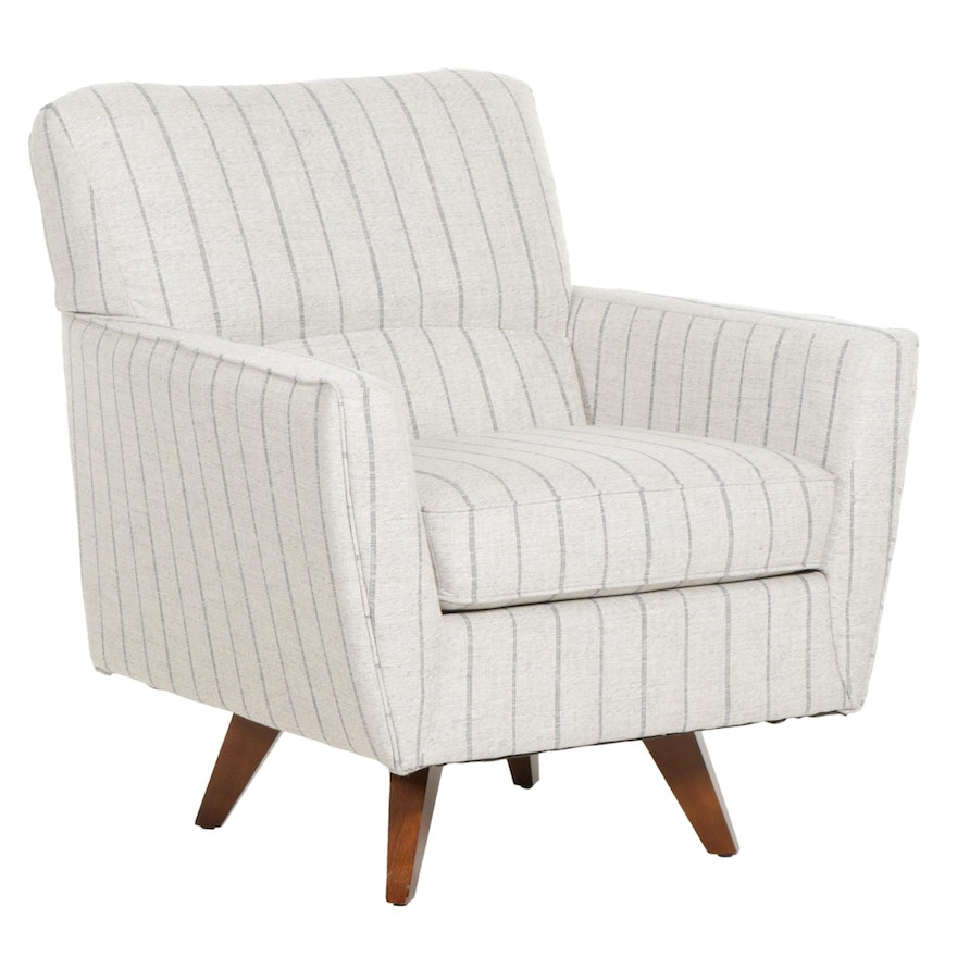 Contemporary La-Z-Boy Upolstered Swivel Armchair