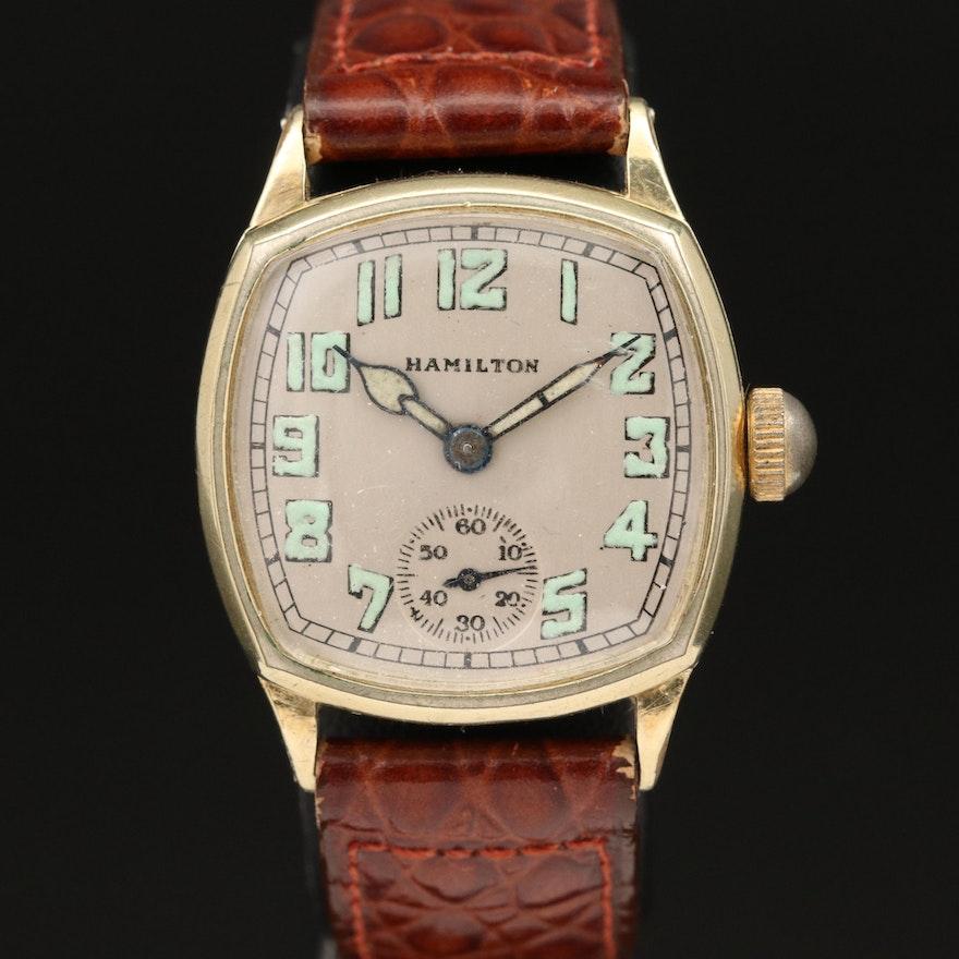 """1926 Hamilton """"Cushion"""" Wristwatch"""