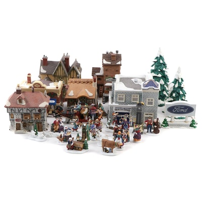Department 56 Dickens' 12 Days Village Series and Snow Village Accessories