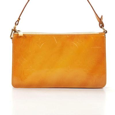 Louis Vuitton Lexington Vernis and Vachetta Leather Pochette