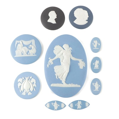Wedgwood  Franklin D. Roosevelt and Other Jasperware Plaques