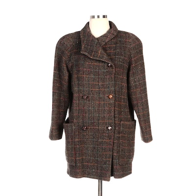 Pavilion Double-Breasted Tweed Coat