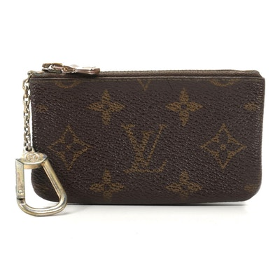 Louis Vuitton Key Pouch in Monogram Canvas