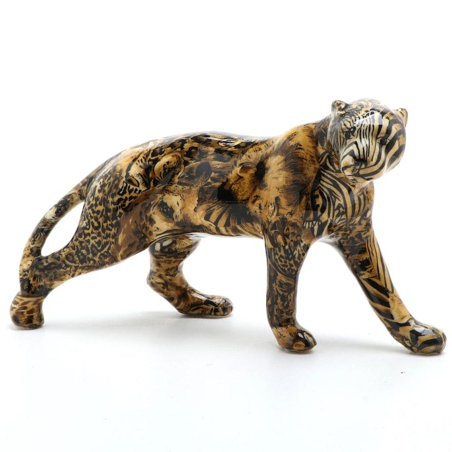 "La Vie Safari ""Out of Africa"" Porcelain Animal Figurine"