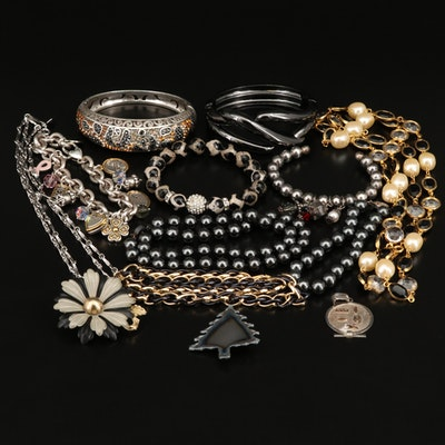 Jewelry Including Brighton Bracelets and Sterling Silver