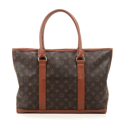 Louis Vuitton Sac Weekend GM in Monogram Canvas and Leather