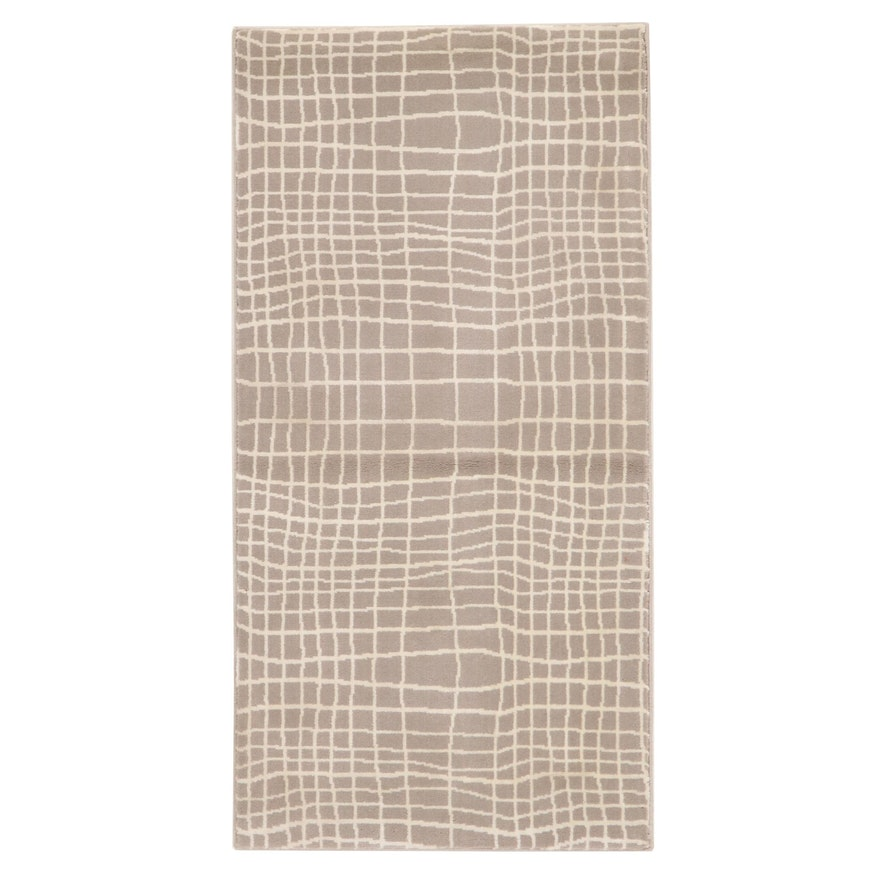2'3 x 3'9 Machine Made Indian Accent Rug