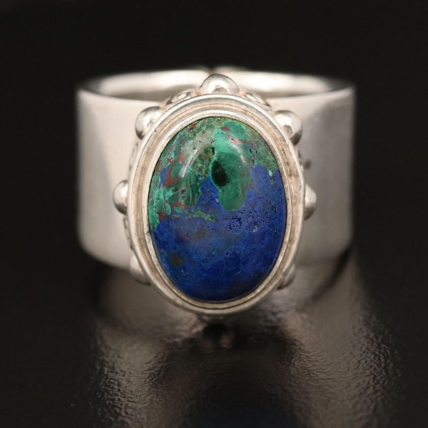 Sajen Sterling Azurmalachite Ring