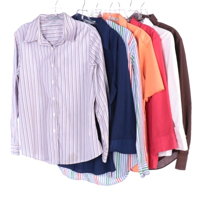 Foxcroft and Jones New York Button-Down Shirts in Various Sleeve Lengths