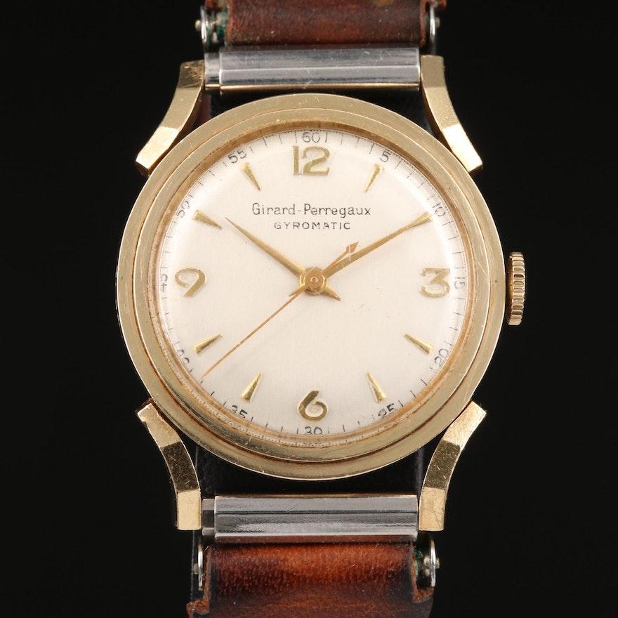 Vintage Girard-Perregaux 14K Automatic Wristwatch