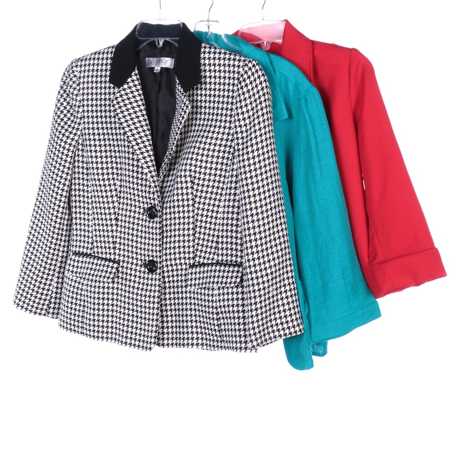 Kasper and Brownstone Studio Suiting Jackets with Chico's Linen Blend Jacket