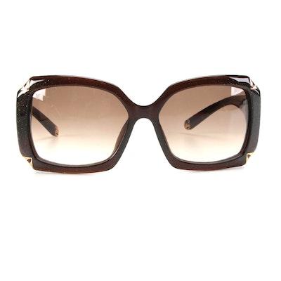 Louis Vuitton Z0366W Hortensia Glitter Sunglasses with Case