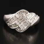 10K 1.29 CTW Diamond Ring