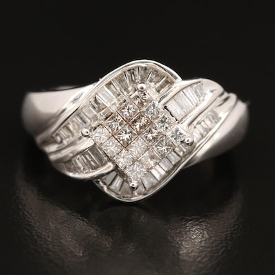 10K 1.29 CTW Diamond Ring
