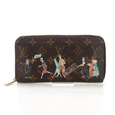 Louis Vuitton Zippy Wallet in Illustre Monogram Canvas