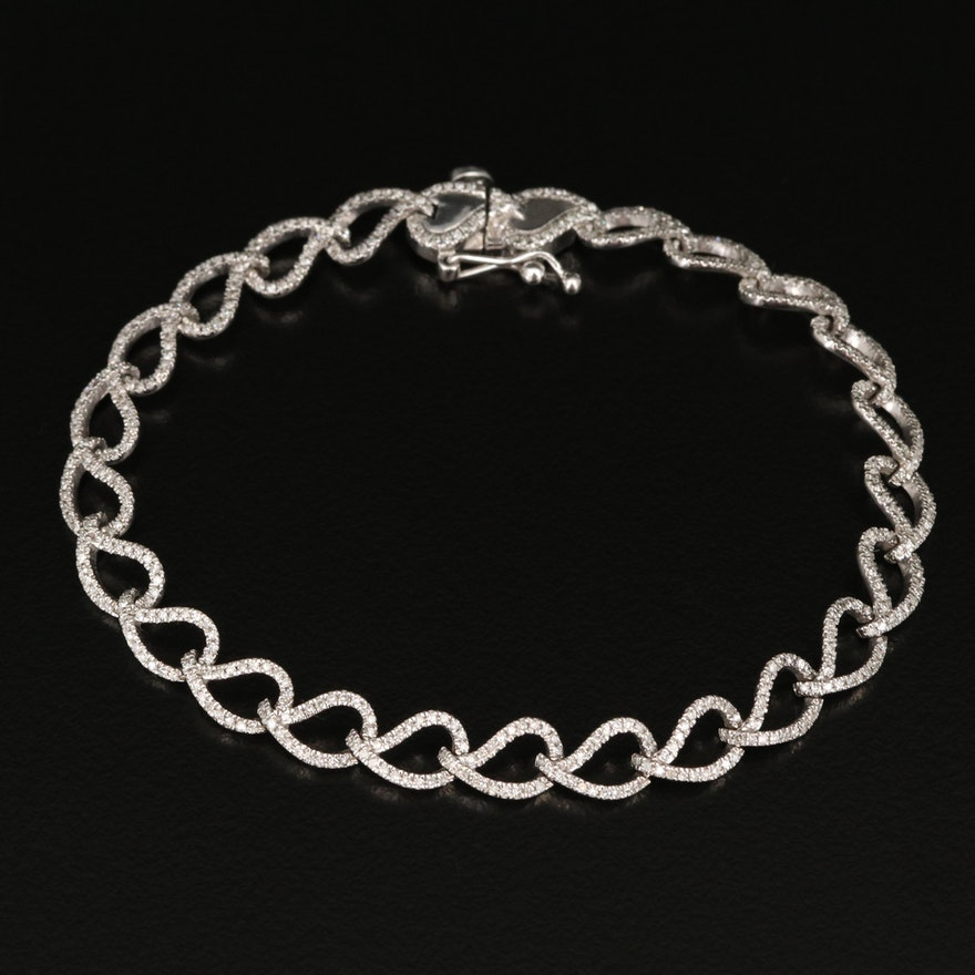 10K 1.55 CTW Diamond Bracelet
