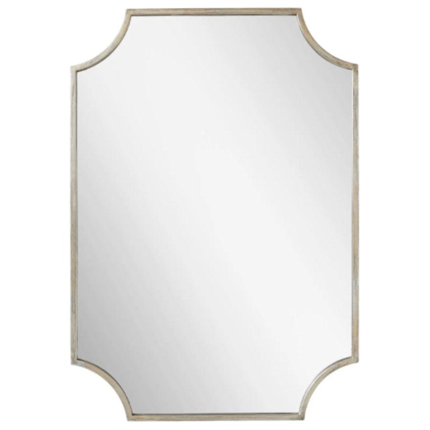 Ulric Decorative Vanity Mirror in Antique Silver