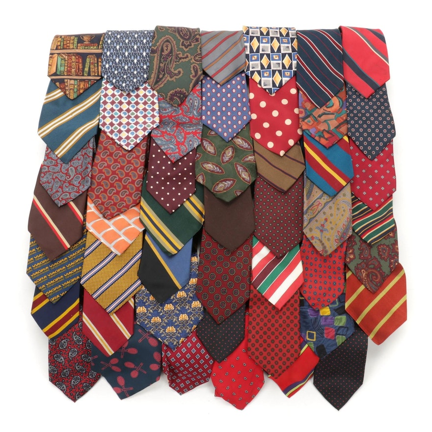 Lilly Daché, Guy Laroche, Donatello, and Other Neckties and Bowties