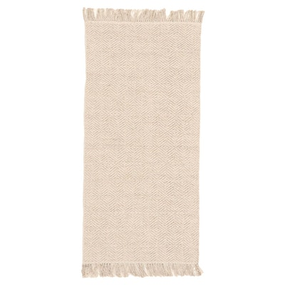2'3 x 5'2 Handwoven Indian Cotton Accent Rug