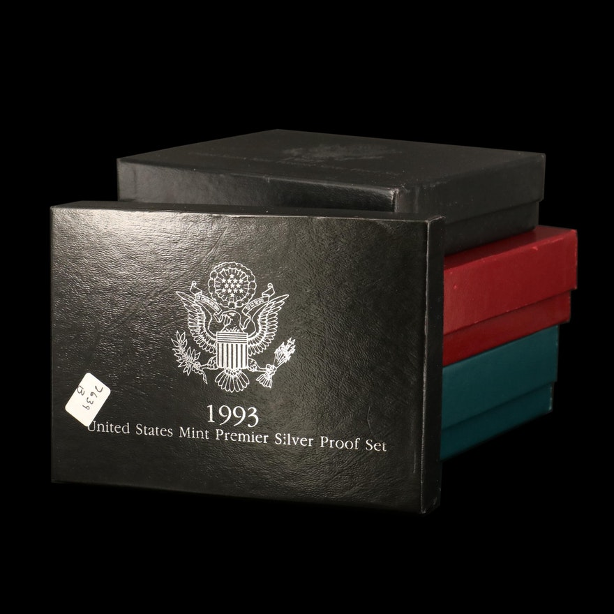 U.S. Mint Prestige and Premiere Silver Proof Sets