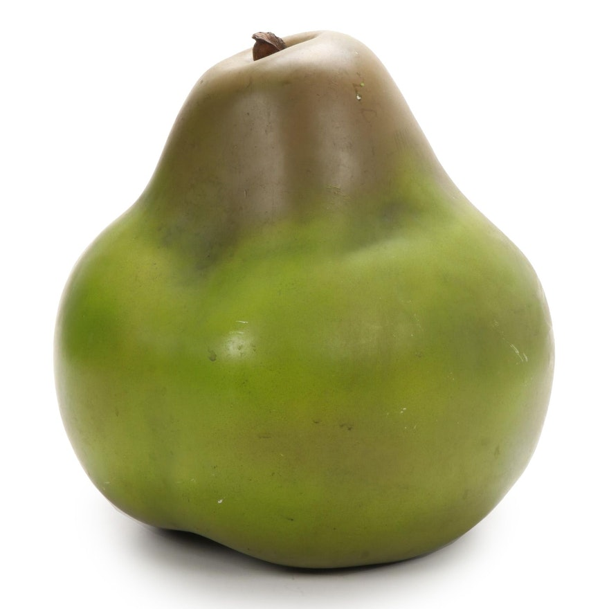 Composite Sculpture of a Pear