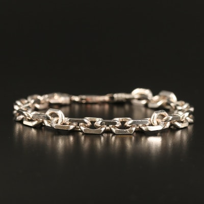 Sterling Cable Chain Bracelet
