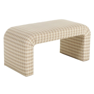 Upholstered Bench, 21st Century