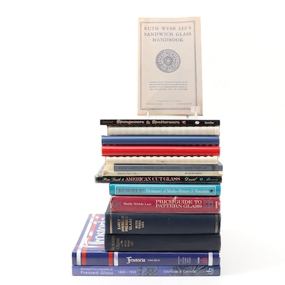 Reference Books on Glassware, Pottery, and Porcelain