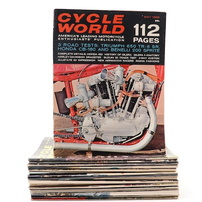 """""""Cycle World"""" Magazine Collection, 1960s and 1970s"""
