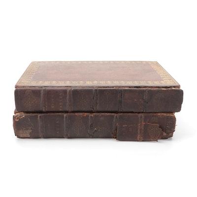 """""""Fables of Æsop"""" Vol. I–II, 1793"""