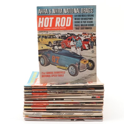 """""""Hot Rod"""" and More Racing Magazines, Mid to Late 20th Century"""