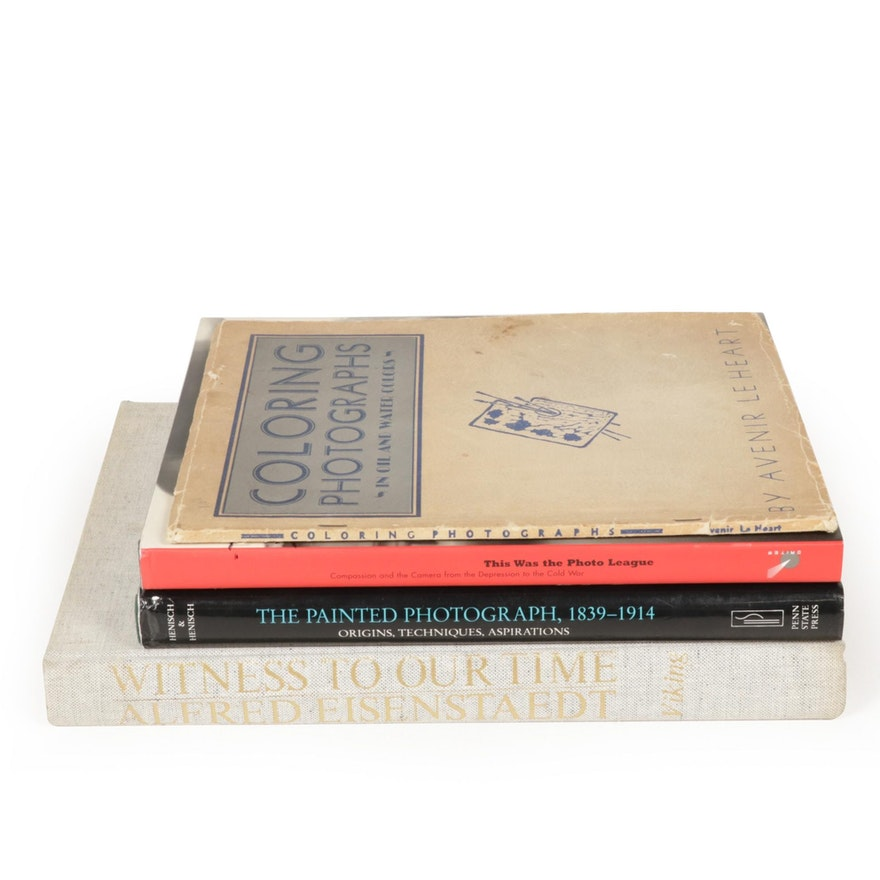 """""""Witness to Our Time: Alfred Eisenstaedt"""" and More Photography Art Books"""