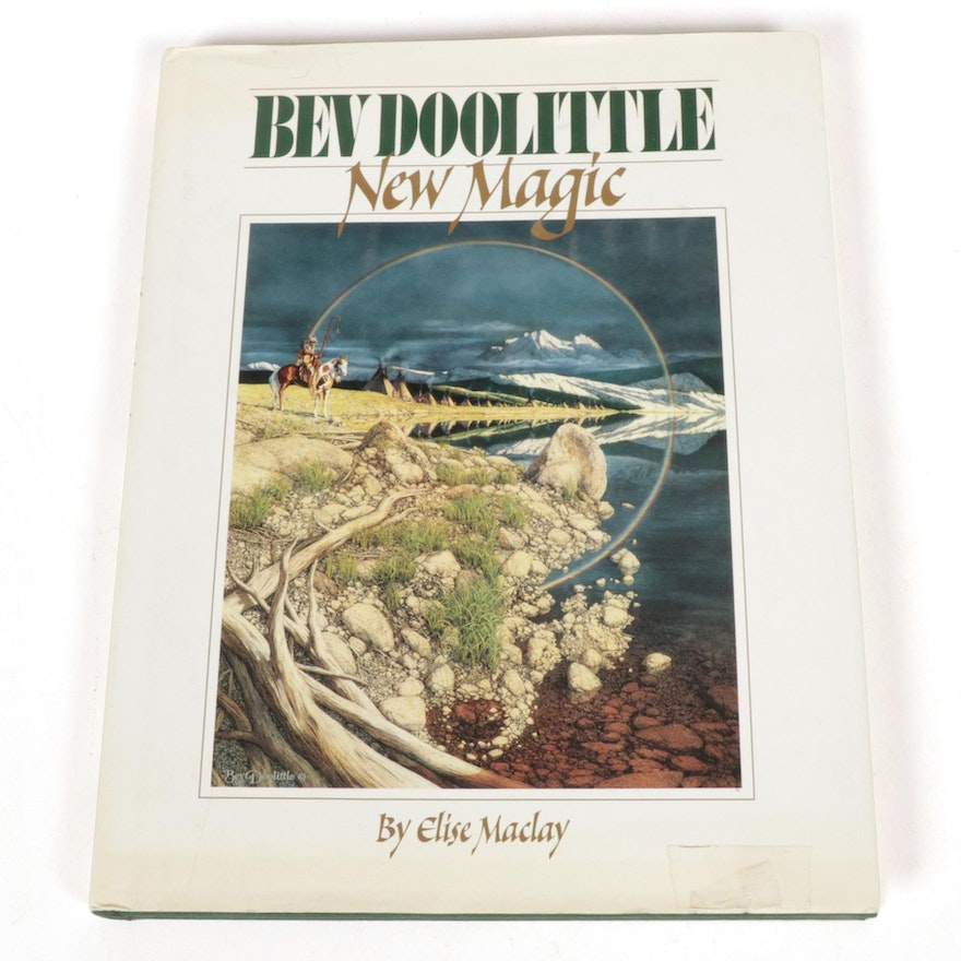 """First Edition """"Bev Doolittle: New Magic"""" by Elise MacLay, 1995"""