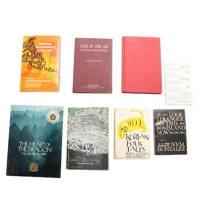 "Fiction and Poetry Books Featuring ""Korean Folk Tales"" by Im Bang and Yi Ryuk"