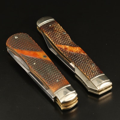 Winchester Pocket Knives Including Swing Guard Locking Blade Model