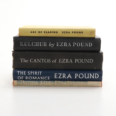 """The Cantos"" and More Books by Ezra Pound, Early to Mid-20th Century"