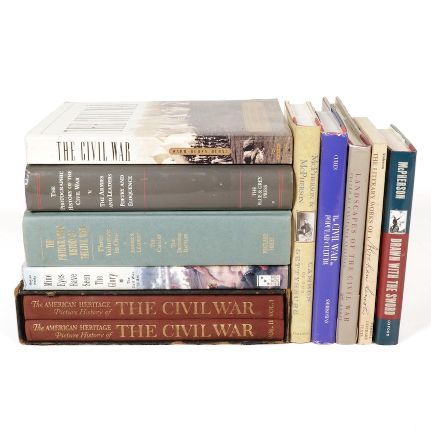 """""""Landscapes of the Civil War"""" and More Books on Civil War History and Art"""