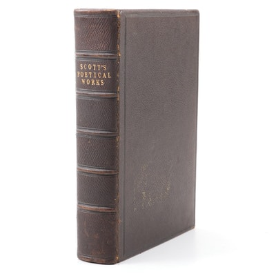 """""""The Poetical Works of Sir Walter Scott,"""" 1857"""