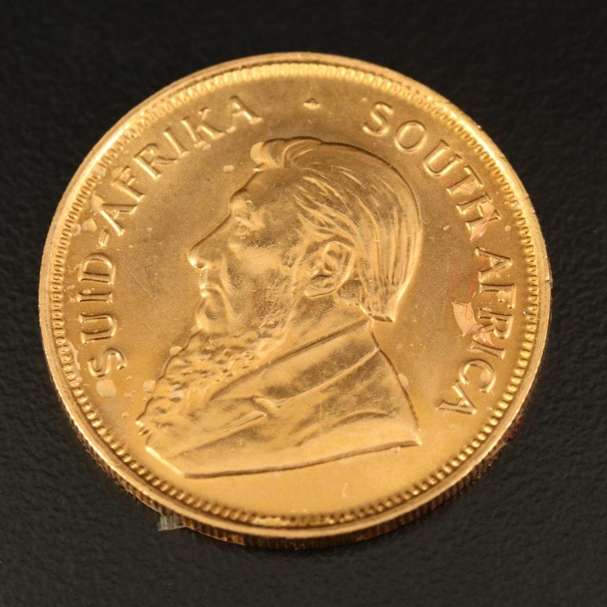 1982 South Africa 1/2-Oz. Krugerrand Gold Bullion Coin