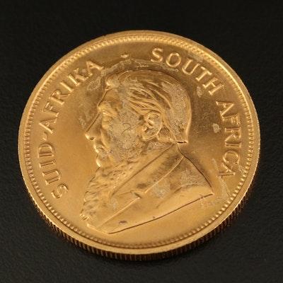 1981 South Africa 1-Oz. Krugerrand Gold Bullion Coin