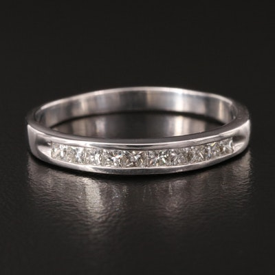 14K Channel Set Diamond Band