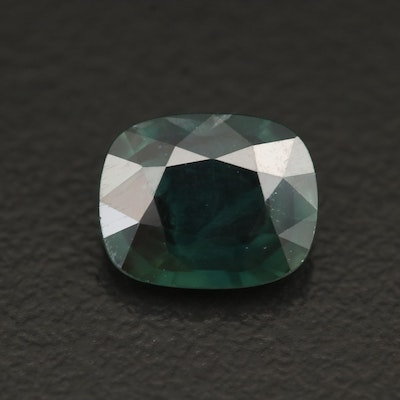 Loose 2.48 CT Cushion Faceted Sapphire