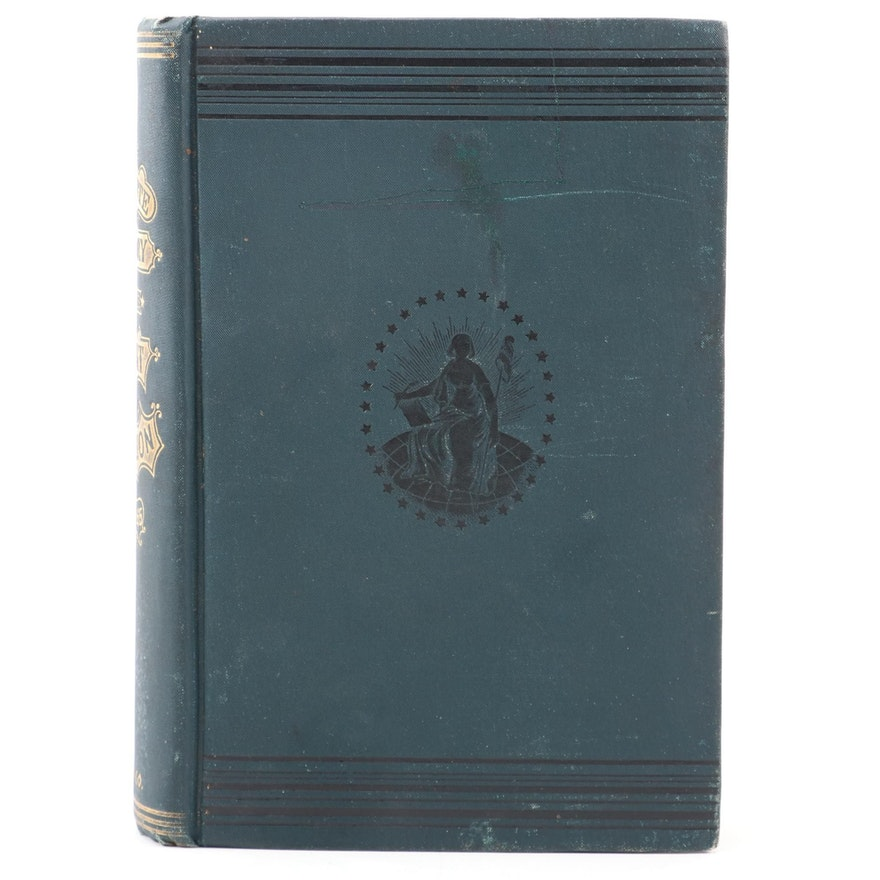 """A Complete History of the Great Rebellion"" by Dr. James Moore, c. 1866"
