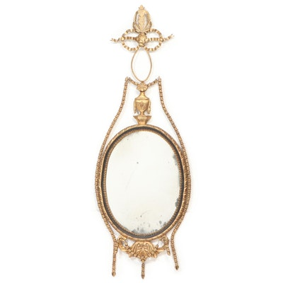 Adams Style Giltwood Finish Wall Mirror, Late 20th to 21st Century