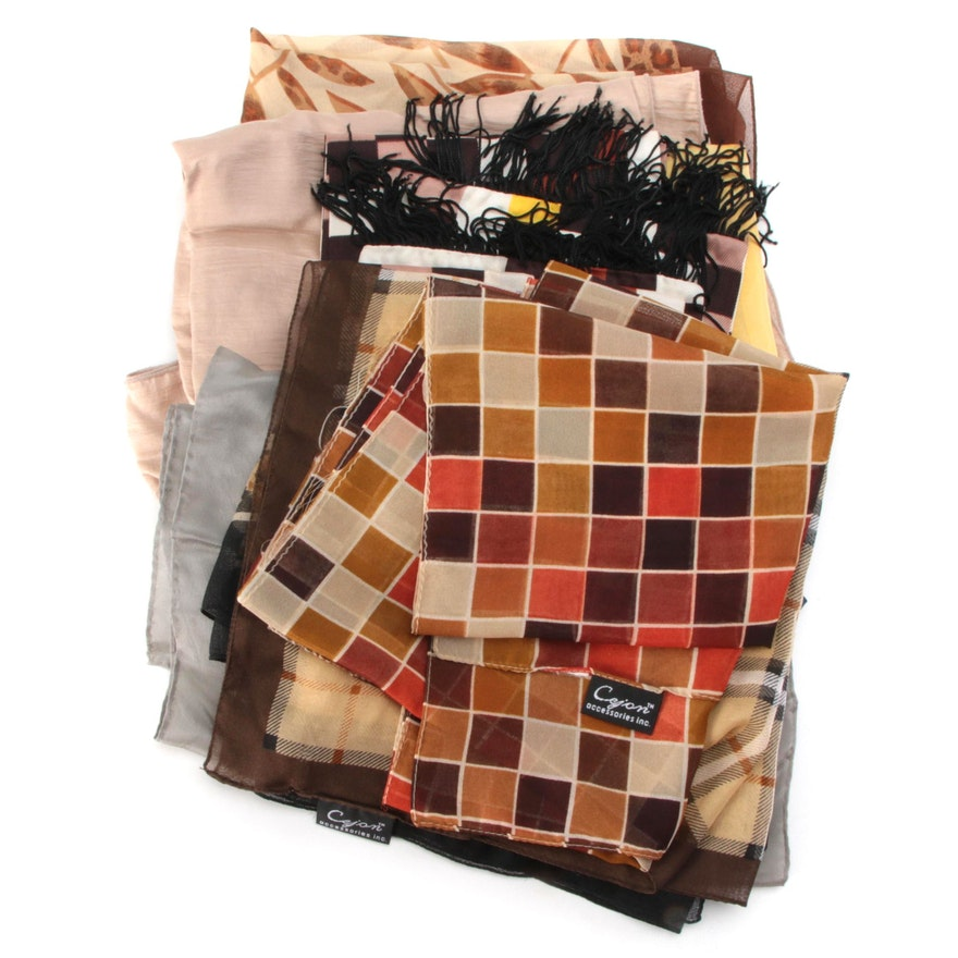 Cejon, Honey, and Other Patterned Scarves